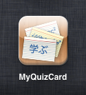 MyQuizCard 2 app icon